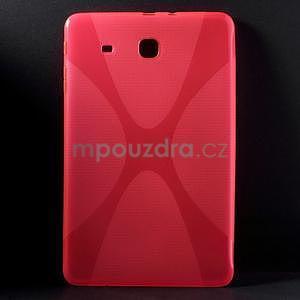 X-line gelové pouzdro na tablet Samsung Galaxy Tab E 9.6 - rose - 1