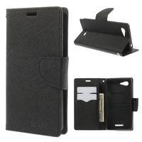 Richmercury pouzdro na mobil Sony Xperia E3 - černé - 1/7