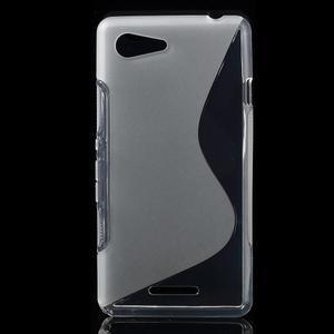 S-line gelový obal na Sony Xperia E3 - transparentní - 1