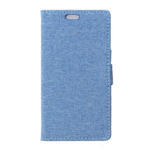 Texture pouzdro na mobil Sony Xperia X - modré - 1