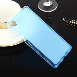 Oboustranně matně gelový obal na Soxy Xperia X - modrý
