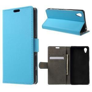 Pouzdro na mobil Sony Xperia X Performance - modré - 1