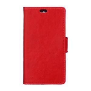 Horse peněženkové pouzdro na Sony Xperia X Performance - červené - 1