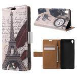 Emotive pouzdro na mobil Sony Xperia XA - Eiffelova věž - 1/7