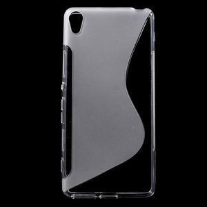 S-line gelový obal na mobil Sony Xperia XA - transparentní - 1