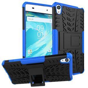 Outdoor odolný obal na mobil Sony Xperia XA - modrý - 1