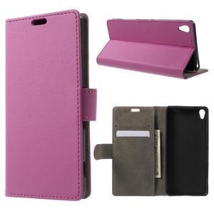 Cardy pouzdro na mobil Sony Xperia XA - rose - 1