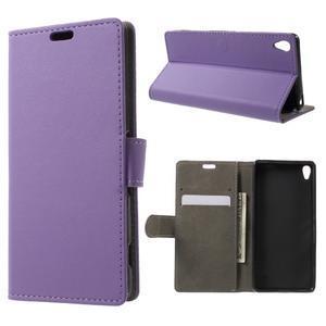 Cardy pouzdro na mobil Sony Xperia XA - fialové - 1