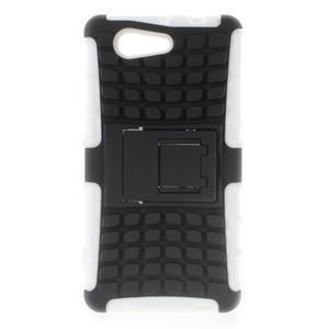 Odolný ochranný kryt na Sony Xperia Z3 Compact - bílý - 1