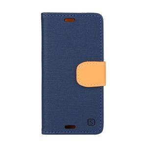 Texture pouzdro na mobil Sony Xperia Z3 Compact - tmavěmodré - 1