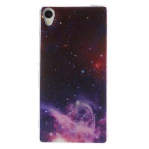 Ultratenký gelový obal na mobil Sony Xperia Z3 - galaxie - 1