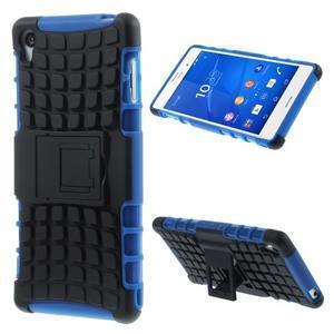 Outdoor ochranný kryt na mobil Sony Xperia Z3 - modrý - 1
