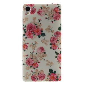 Gelový obal na mobil Sony Xperia Z3 - květiny - 1