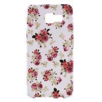 Gelový obal pro Samsung Galaxy A3 (2016) - květiny - 1/5