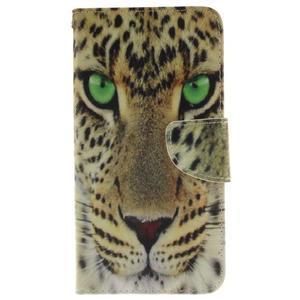 Patt peněženkové pouzdro na Samsung Galaxy A3 (2016) - leopard - 1