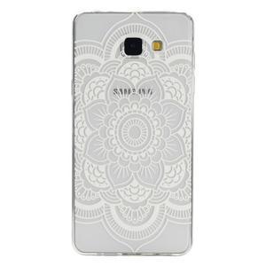 Ultratenký slim obal na mobil Samsung Galaxy A3 (2016) - bílá mandala - 1
