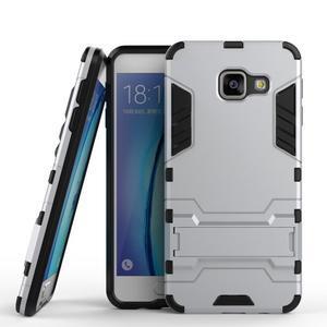 Outdoor odolný kryt na mobil Samsung Galaxy A3 (2016) - stříbrný - 1