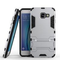 Outdoor odolný kryt na mobil Samsung Galaxy A3 (2016) - stříbrný - 1/2