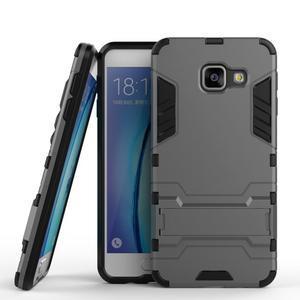 Outdoor odolný kryt na mobil Samsung Galaxy A3 (2016) - šedý - 1