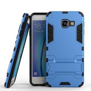 Outdoor odolný kryt na mobil Samsung Galaxy A3 (2016) - světlemodrý - 1