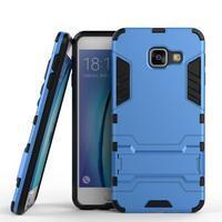 Outdoor odolný kryt na mobil Samsung Galaxy A3 (2016) - světlemodrý - 1/2