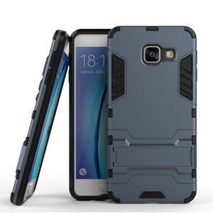 Outdoor odolný kryt na mobil Samsung Galaxy A3 (2016) - tmavěmodrý - 1