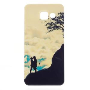 Gelový obal pro Samsung Galaxy A3 (2016) - láska a hory - 1