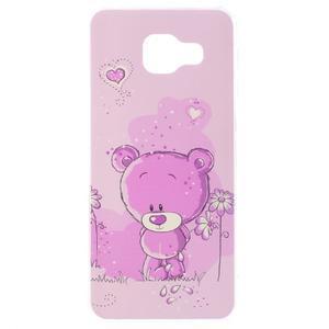Gelový obal na mobil Samsung Galaxy A3 (2016) - medvídek - 1