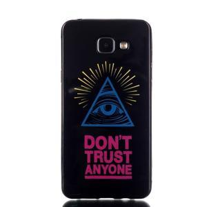 Style gelový obal na mobil Samsung Galaxy A3 (2016) - triangle - 1
