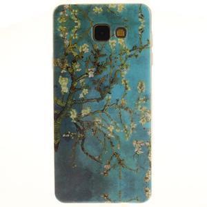 Silk gelový kryt na mobil Samsung Galaxy A3 (2016) - rozkvetlý strom - 1