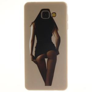 Silk gelový kryt na mobil Samsung Galaxy A3 (2016) - sexy girl - 1