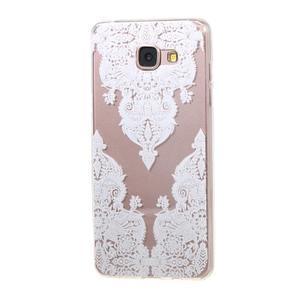 Miffs ultratenký gelový obal na Samsung Galaxy A3 (2016) - krajka I - 1