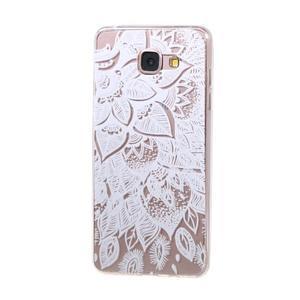 Miffs ultratenký gelový obal na Samsung Galaxy A3 (2016) - lotus - 1