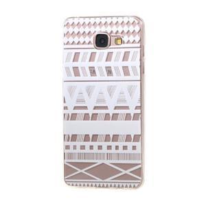 Miffs ultratenký gelový obal na Samsung Galaxy A3 (2016) - geo tvary - 1