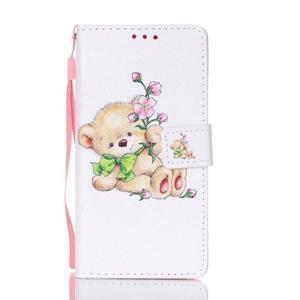 Cardy pouzdro na mobil Samsung Galaxy A3 (2016) - medvídek - 1