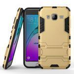 Outdoor odolný obal na Samsung Galaxy J3  (2016) - zlaté - 1/2