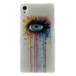 Emotive gelový obal na Sony Xperia Z2 - barevné oko - 1
