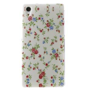 Emotive gelový obal na Sony Xperia Z2 - květiny - 1