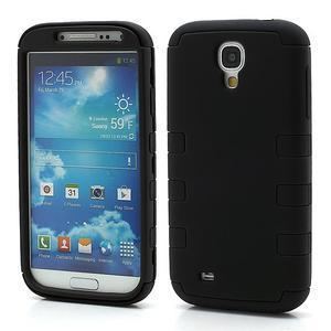 Extreme odolný gelový obal 2v1 na Samsung Galaxy S4 - černý - 1