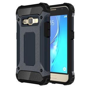 Armory odolný obal na mobil Samsung Galaxy J1 (2016) - tmavěmodrý - 1