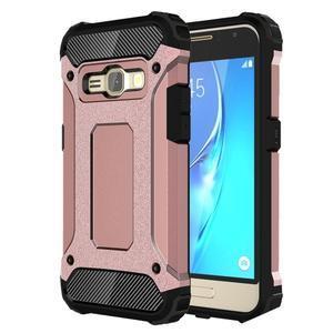 Armory odolný obal na mobil Samsung Galaxy J1 (2016) - růžovozlatý - 1