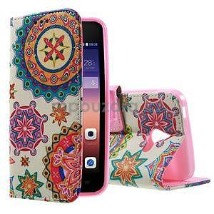 Stylové pouzdro na mobil Huawei Ascend Y550 - mandala - 1