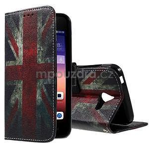 Stylové pouzdro na mobil Huawei Ascend Y550 - UK vlajka - 1