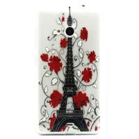 Gelový obal na mobil Microsoft Lumia 535 - Eiffelova věž - 1/3