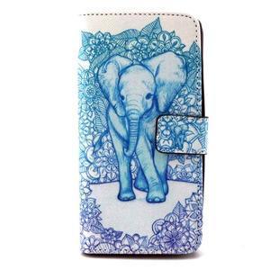 Peneženkové pouzdro na mobil LG G4c - slon - 1