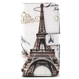Peneženkové pouzdro na mobil LG G4c - Eiffelova věž - 1