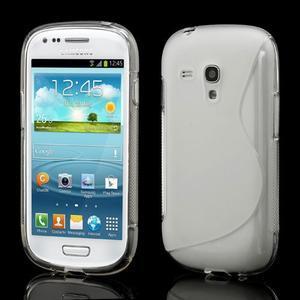 Transparentní gelové pouzdro pro Samsung Galaxy S3 mini /i8190 - 1