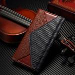 Breck peněženkové pouzdro na Samsung Galaxy S6 - hnědé/černé - 1/7
