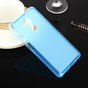 Doubles matný gelový obal na Honor 7 Lite - modrý - 1