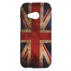 Gelový kryt na HTC One mini 2 - UK vlajka - 1